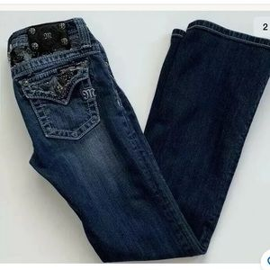Miss Me Girls Jeans Bootcut Size 14